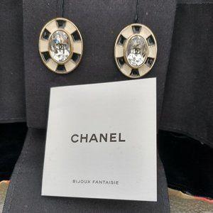 Chanel Post Earrings